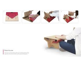 How To Make A Cardboard Desk A Cardboard Desk Is Giving Children Around The World A Place To Do