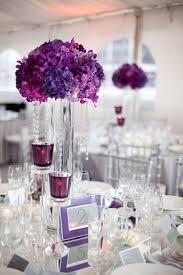 purple centerpieces for wedding sweet centerpieces