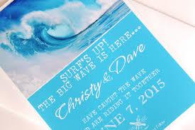 Save The Date Destination Wedding Surf Wave Turquoise And White Beach Destination Wedding Save The