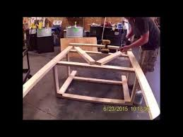 Workbench With Light How To Build A Workbench With Light Diy Time Lapse Youtube