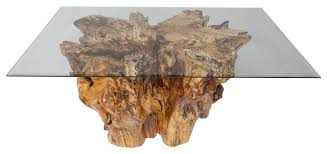 Tree Stump Nightstand Spalted Sycamore Tree Stump Coffee Table Rustic Coffee Tables