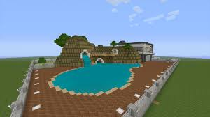 minecraft how to build a pool house tutorial youtube idolza