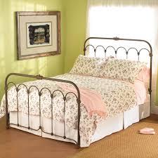 vintage wrought iron bed u2014 derektime design romantic and elegant