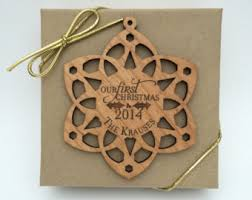 personalized snowflake ornament personalized