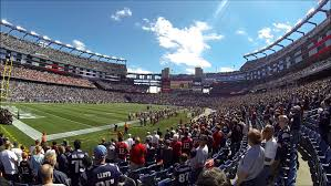 gillette stadium floor plan new england patriots seating chart patriots seat chart view