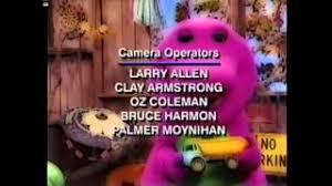 Credits To Barney And The by Barney End Credits Barney U0027s Magical Musical Adventure U0027s Version