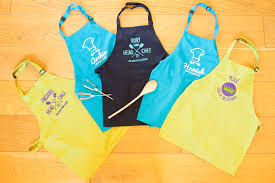jen harvey design personalised apron designs