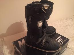 motocross boots size 5 kids fly maverick mx boots size 5 in blacon cheshire gumtree