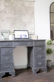 Vintage Desk With Hutch by Vintage Painted Desk Seeking Lavendar Lane