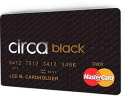 mastercard prepaid card circablack