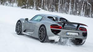 porsche snow this porsche 918 drift video is the coolest thing you u0027ll see today