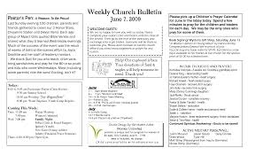 free church bulletin templates google docs wedding program
