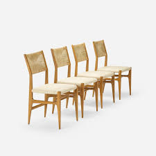 Set Of Four Dining Chairs 387 Gio Ponti Dining Chairs Model 116 Set Of Four