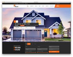 Free Real Estate Web Templates by 40 Best Real Estate Wordpress Themes For Agencies Realtors And