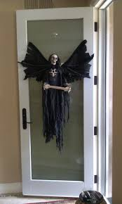 halloween decorating doors ideas table and chair and door