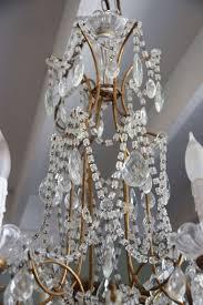 beaded crystal chandelier 1930 u0027s italian crystal macaroni beaded chandelier melissa