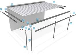 attached carport plans outback flat stratco