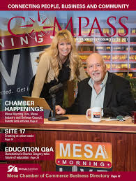 mesa chamber of commerce compass 2017 by republic media content
