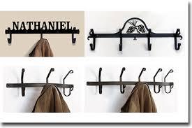 coat racks hooks wrought iron wall mounted