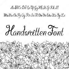 buchstaben design kalligraphische schrift alphabet sie können es als schriftart für