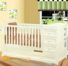 White Crib And Changing Table Crib Changer Combo Every Nursery Furniture Set Needs At Least