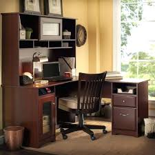 saratoga executive collection manager s desk bush saratoga desk bush business managers desk harvest cherry home