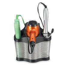 remington ci5213 instant curls 5 hair blow dryer tool flat curling iron holder caddy organizer bathroom