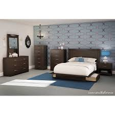 South Shore Full Platform Bed South Shore Soho Full Queen Storage Platform Bed With 2 Drawers