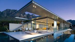 architect design homes minimalist view home in south africa idesignarch