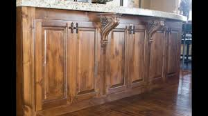 knotty alder cabinets youtube
