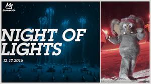 mammoth night of lights night of lights 12 17 16 youtube
