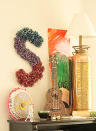 get crafty with yarn pom pom wall art ritzy parties