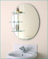 Oval Bathroom Mirrors Brushed Nickel Oval Bathroom Mirrors Oval Bathroom Mirrors With Medicine Cabinet