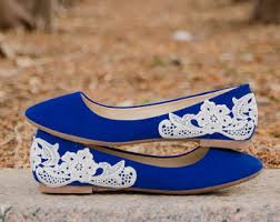 wedding shoes size 9 navy blue bridal ballet flatswedding shoeslow wedding