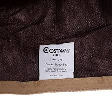 Patio Cushion Storage Bags Outdoor Cushion Storage Bag Patio Furniture Chaise Organizer