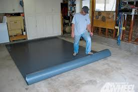 131 0905 04 z gloor vinyl garge flooring roll out mats photo