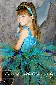 Child Peacock Halloween Costume Peacock Bustle Tutu Peacock Eye Feathers Turquoise Navy