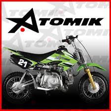 dirt bikes motocross new atomik moto x 50cc motor pit dirt bike motocross trail terrain