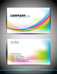 abstract business card templates free vector download 36 660 free