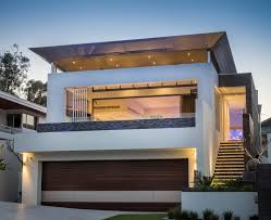 austin contemporary garage doors with cedar door lighting perth contemporary garage doors with pink outdoor pots and planters exterior rendered double brick modern landscape
