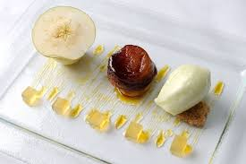 assiette de cuisine assiette of apple recipe great chefs