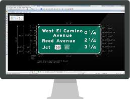 software gui design guidesign road and highway sign design software transoft solutions