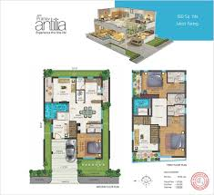 Antilla Floor Plan by Jpmya180 Sq Yds West Facing Jpg