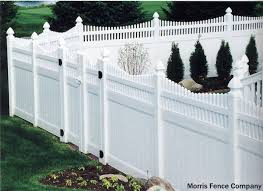 Garden Fence Types - white picket fence cost pvc fencing cost crafts home best 25
