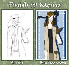 Finish It Meme - finish it meme by sierrastar221 on deviantart