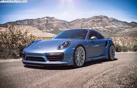 miami blue porsche turbo s a must see ice blue metallic 991 turbo s on hre p200 u0027s by wheels