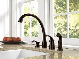 delta 4380 rb dst pilar single handle kitchen faucet with spray