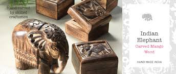 indian elephant mango wood home accessories home gifts