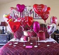 Valentines Day Balloon Decor by Wall Art Decorating Ideas Interior Balloons Decorations Valentines