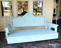 oversized porch swing bed wooden swings cushions 36672 interior